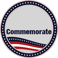 Commemorate button