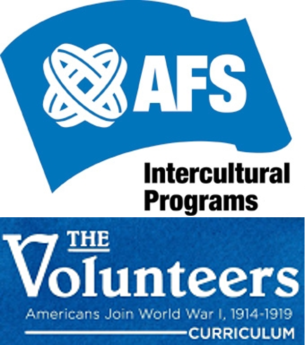 AFS Volunteers combo logo 2