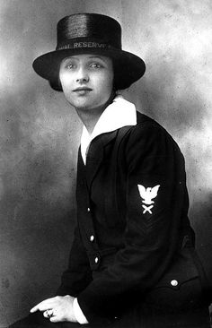American woman sailor 1918
