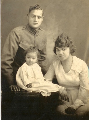 WWI African American Family