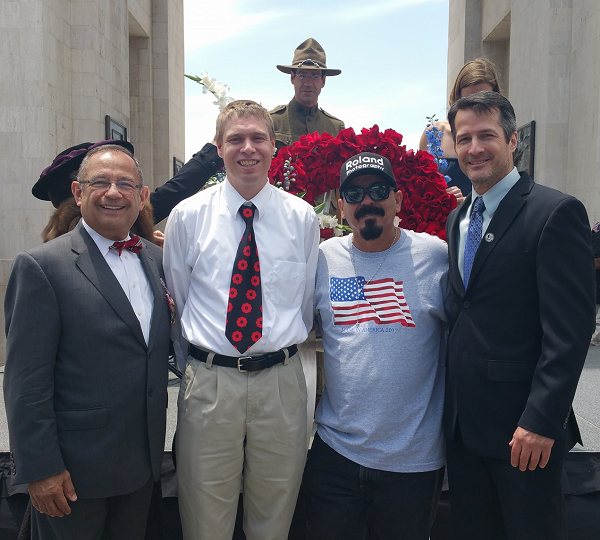 Guests from the 2017 Los Angeles Coliseum Memorial Day event