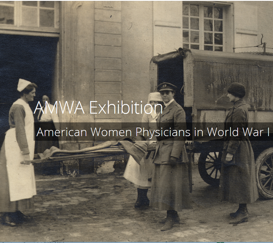 American Women Physicians in World War I exhibition