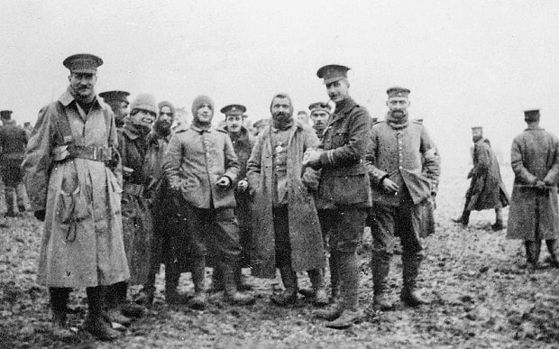 why the christmas truce endures in historical memory world war i centennial - Wwi Christmas Truce