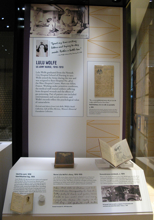 Lulu Wolfe exhibit