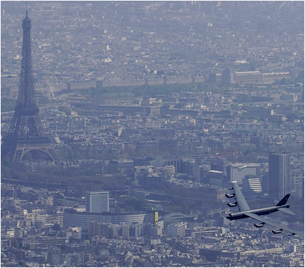 B 52 over Paris