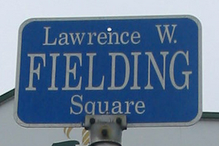 Fielding Square sign