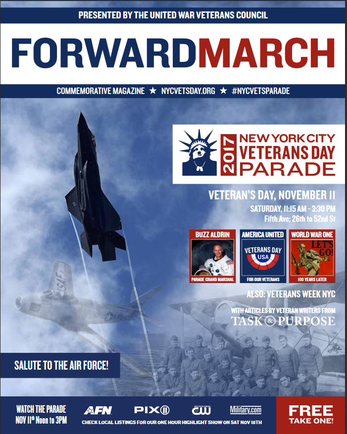 Forward March Cover 2017