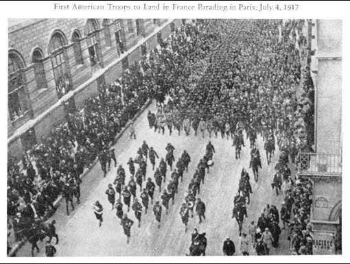 5. 16 IN 4 July 1917 Parade in Paris