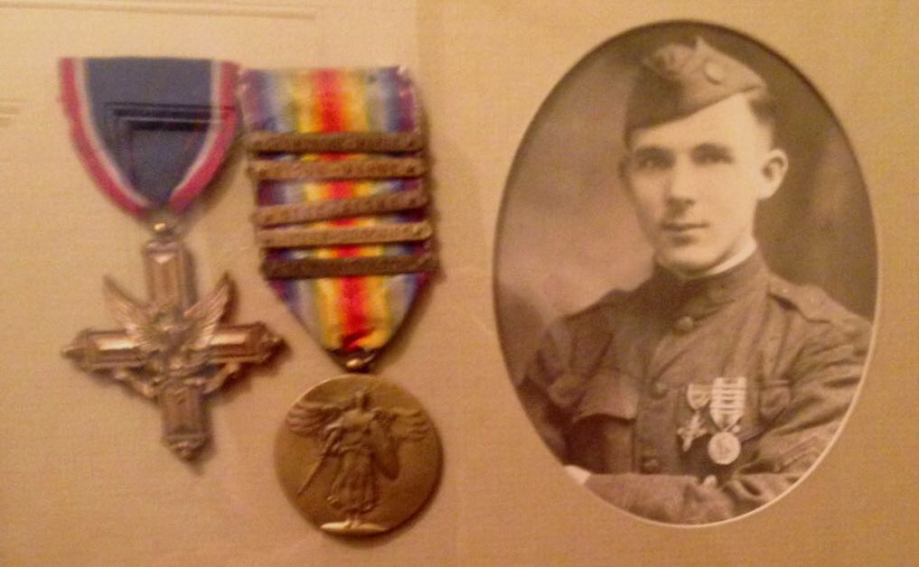 Harry Edwin Roach DSC Liberty Medal