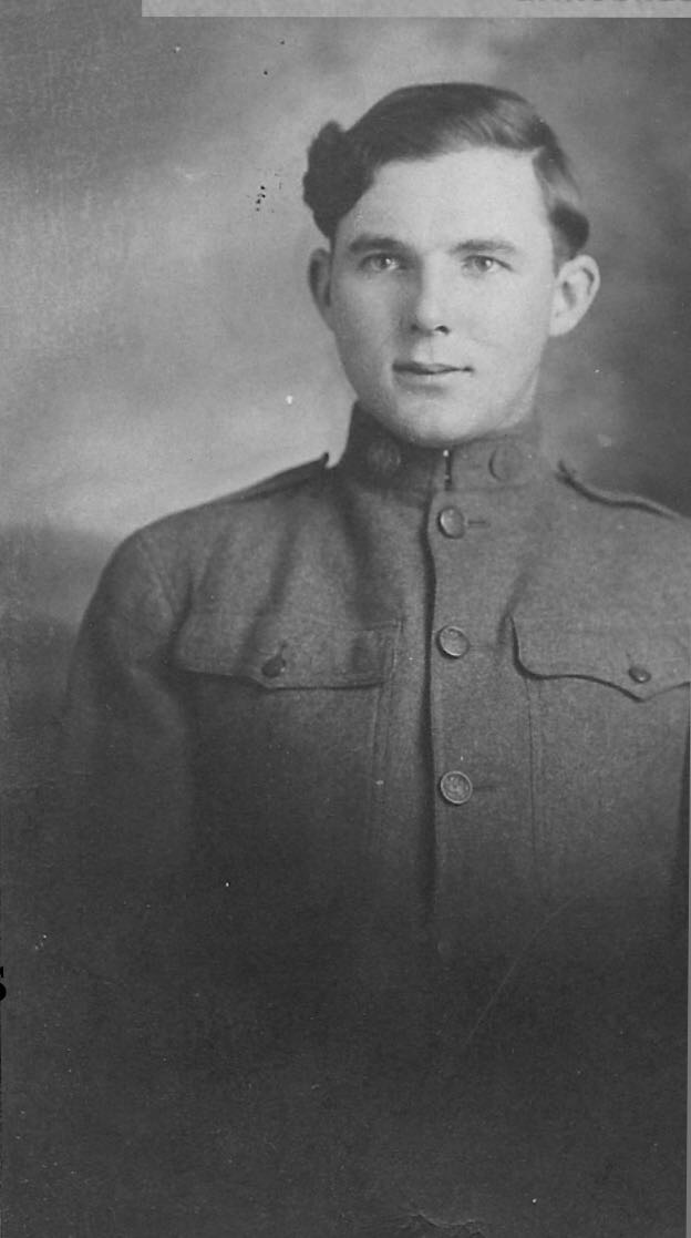 Harry Edwin Roach in uniform