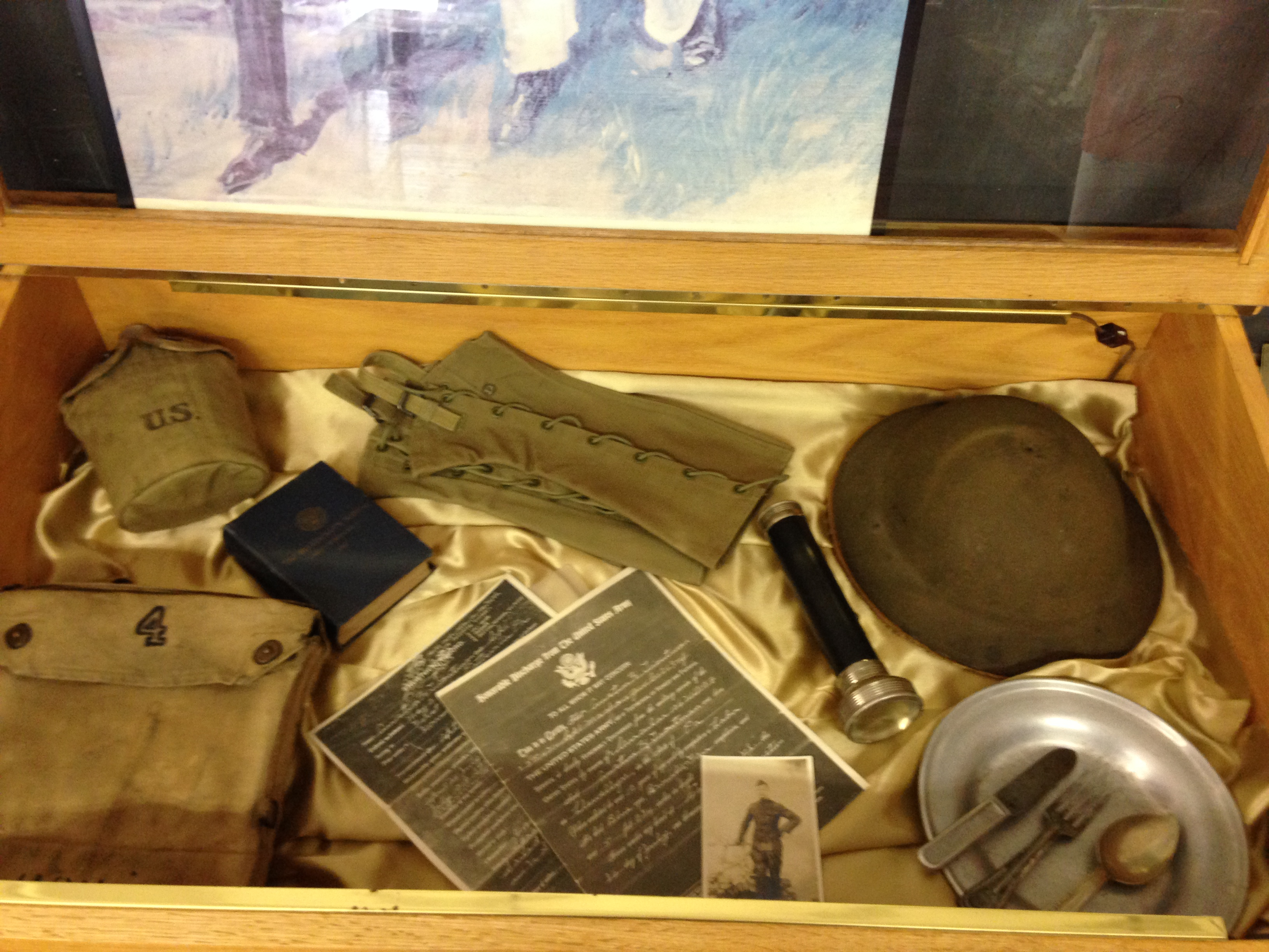 WVHS WW1 artifacts