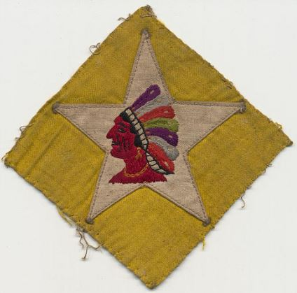 World War I Shoulder Patch of the 2nd Battalion, 6th Marines