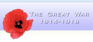 The Great War 1914-1918 logo