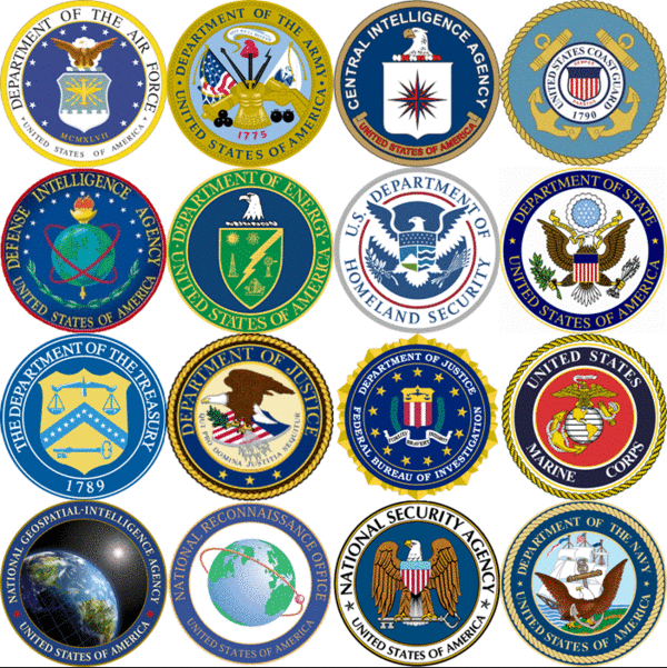 US government seals