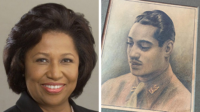 carol moseley braun and grandfather wwi