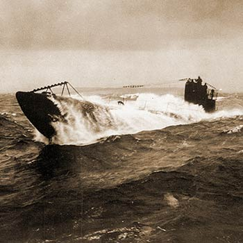 The German Submarine Drives The WWI Strategy In The Atlantic