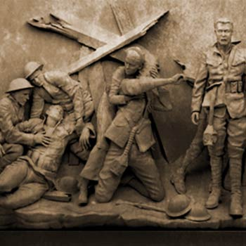From the design for the National WWI Memorial at Pershing Park in Washington DC