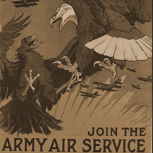 The flyers of WWI were idealized, but many suffered from PTSD