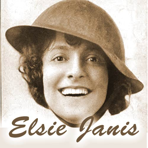 "Elsie Janis, The ""Sweetheart of the doughboys"""