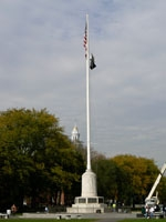 CT New Haven. WWI Memorial Flagpole (1928)