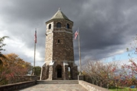 CT Vernon (Rockville neighborhood). WWI Memorial Tower