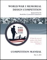 WW1 Memorial Design Competition Manual - Print Resolution