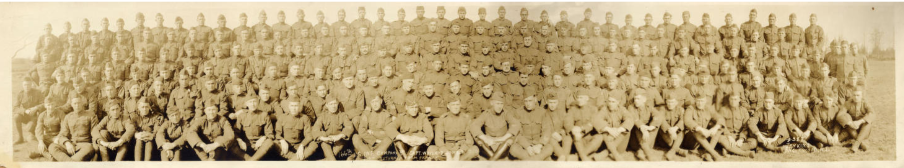166th Infantry Company B