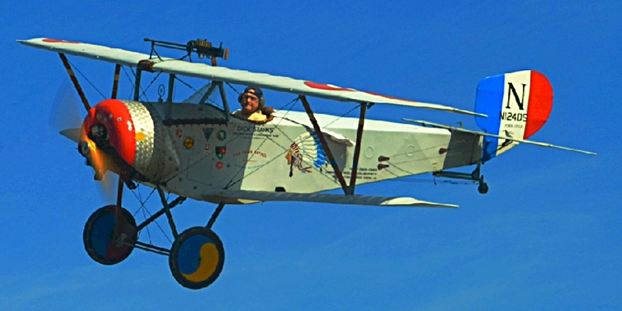 1916 Nieuport 11 fighter