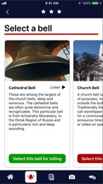 select the bell