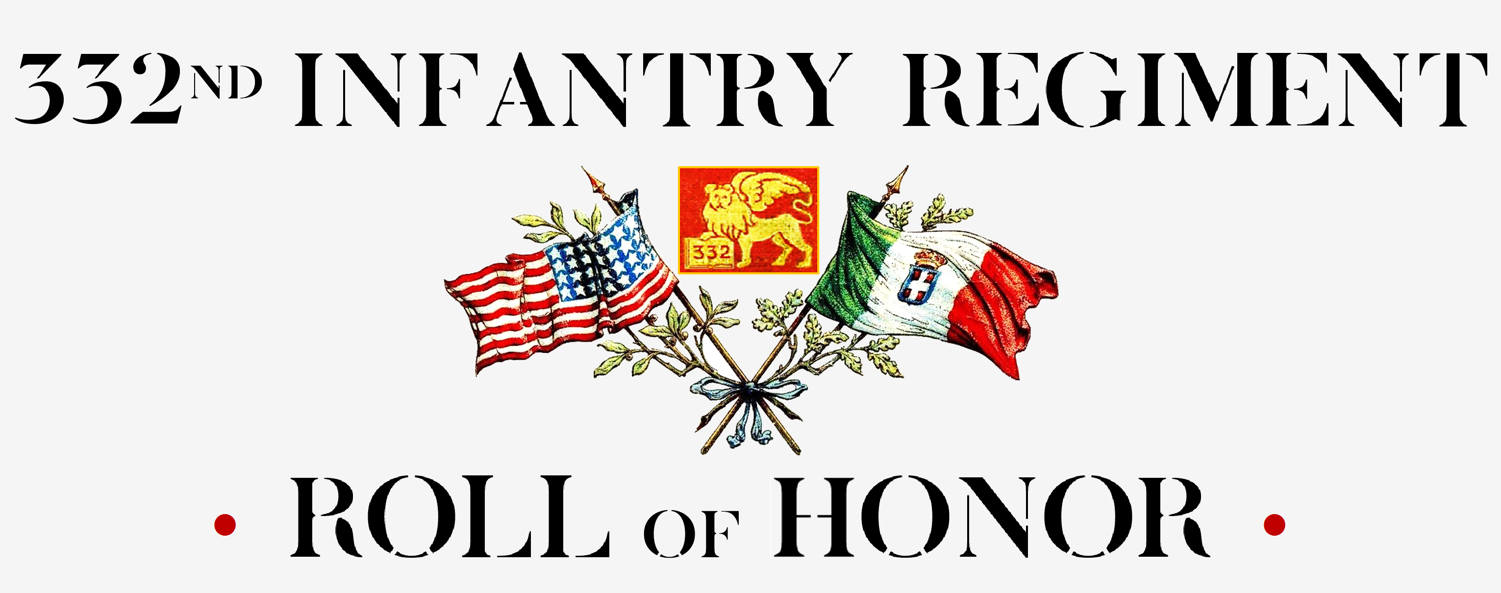 332ND ROLL of HONOR DIED IN ITALY 04june2018