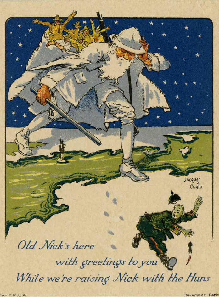 Article Moore Christmas 1918 Image Hayes Card