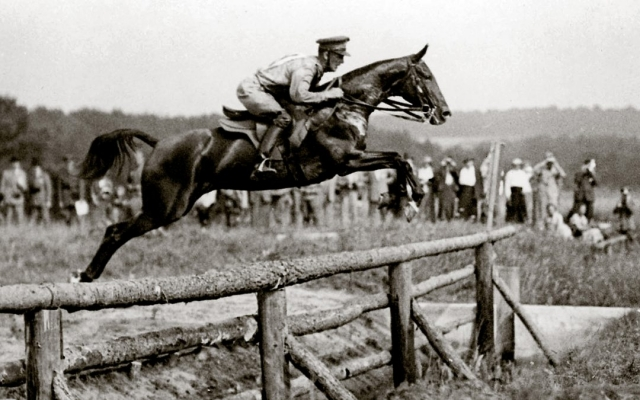 Lt Patton in 1912 Olympic pentathlon