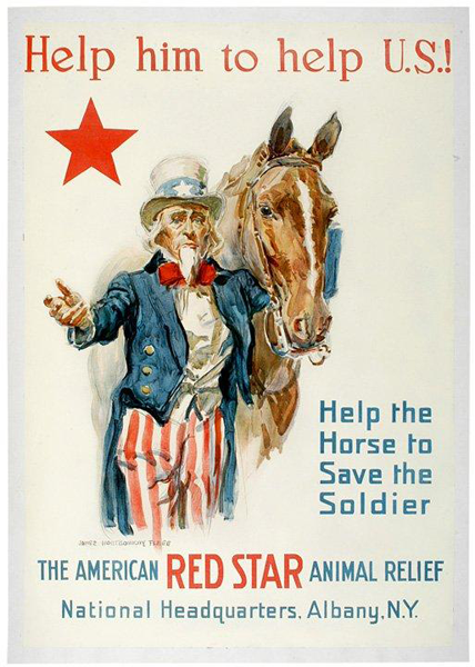 American Red Star Poster No 3