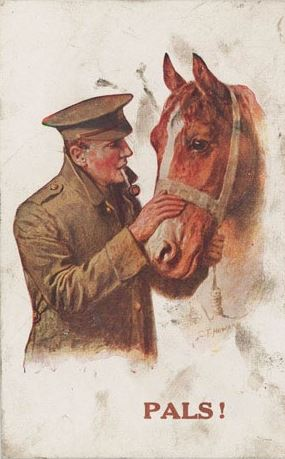 Be Kind to Animals poster great britain WW1 era