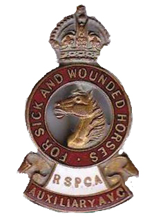 RSPCA cap badge copy