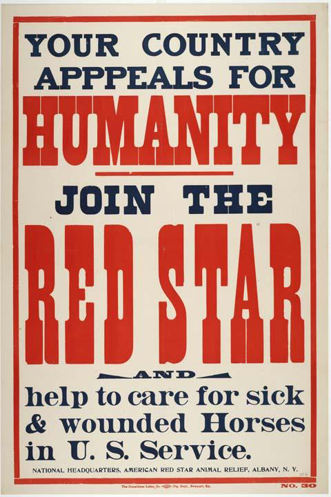 red star appeal to humanity