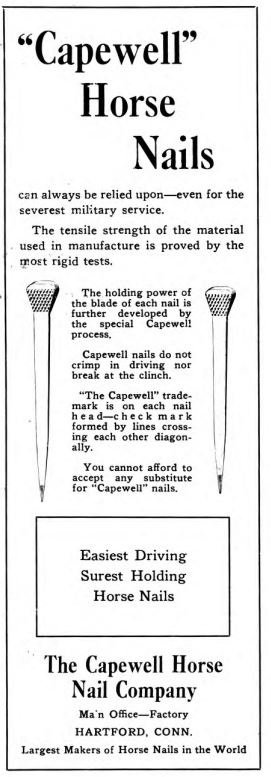 RASP horseshoe nail ads