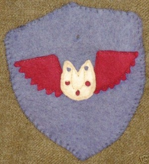 GK Farrier WW1 uniform shoulder patch