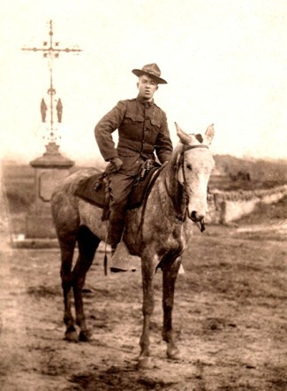 GK Sgt Leonard Murphy at Sougy France 1917 18