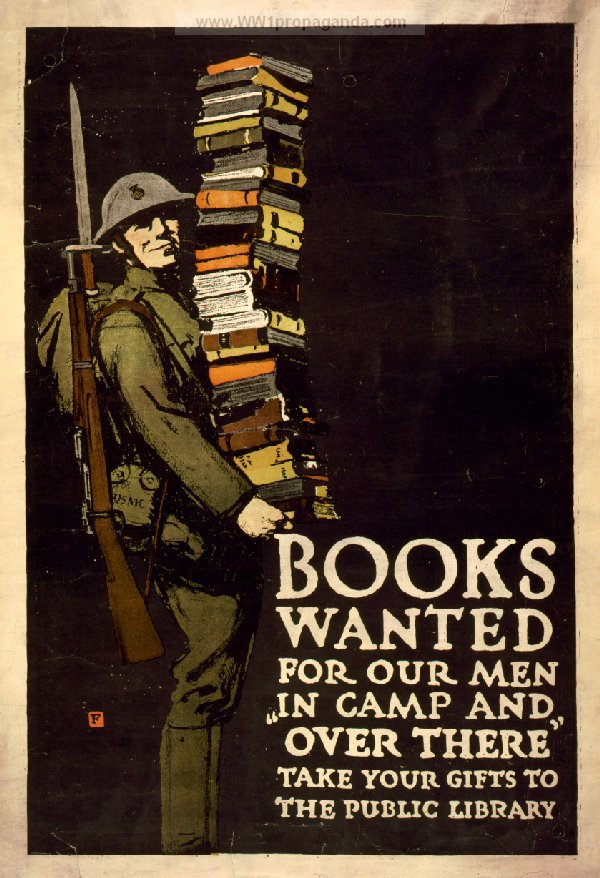 doughboy library poster