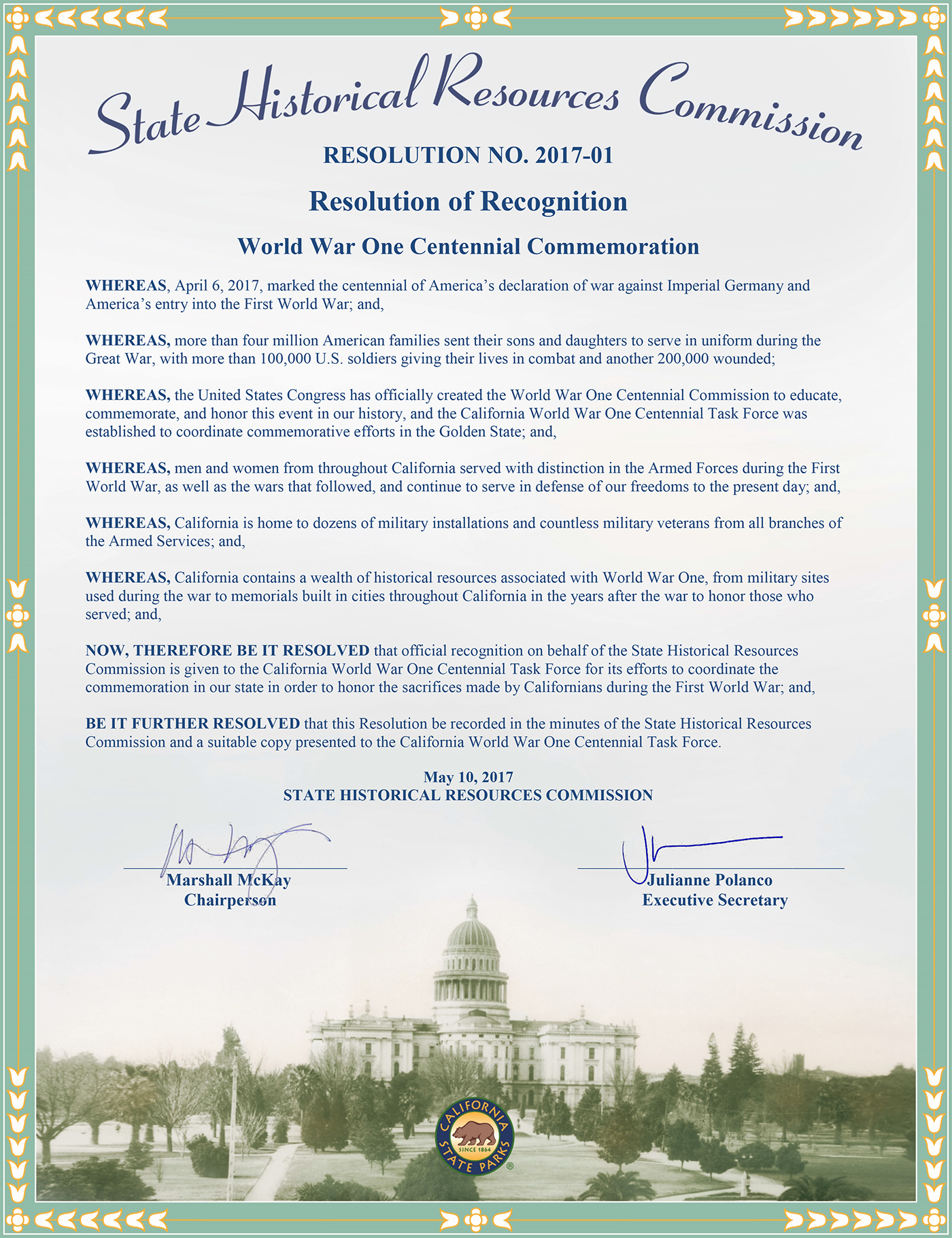 state human resources commission proclamation