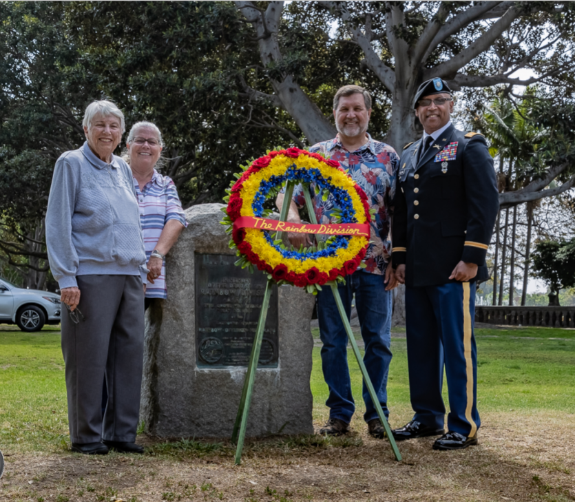2018 davis family and roldan and monument