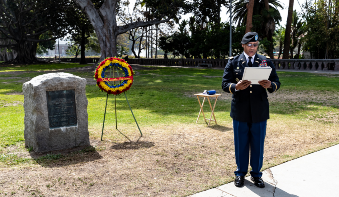 2018 lt col roldan reads commemoration
