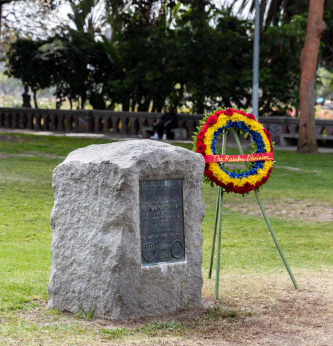 rainbow memorial grove monument 2018
