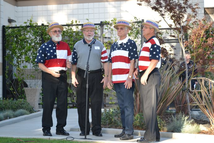 barbershop quartet sings patriotic medly 2017 montclair memorial day result