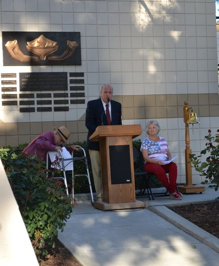 councilman ruh reads flanders fields result