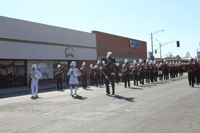 chs band veterans day parade result