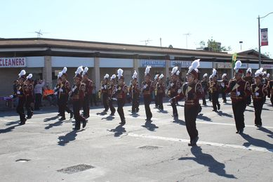colton band veterans day parade result
