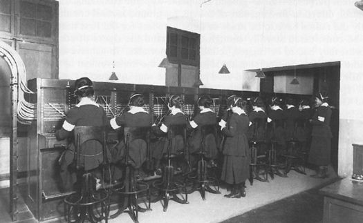 hello girls at chaumont switchboards