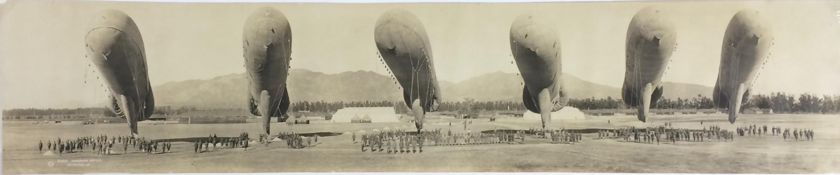 observation balloons ross field balloon school 1918